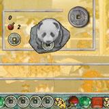 Панда и китайские монеты
